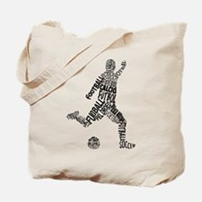 Soccer Football Languages Tote Bag