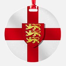 England Three Lions Flag Ornament