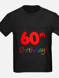 Its Grandmas 60th Birthday T-Shirt