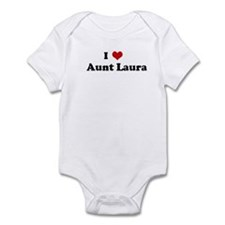 I Love    Aunt Laura Infant Bodysuit