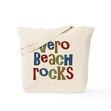 Vero Beach Florida Rocks Tote Bag