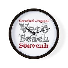 Vero Beach Florida Souvenir Wall Clock