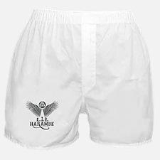 R.I.P. HARAMBE Boxer Shorts