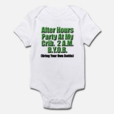 After Hours Party - My Crib Infant Bodysuit