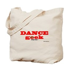Dance Geek Orange Tote Bag