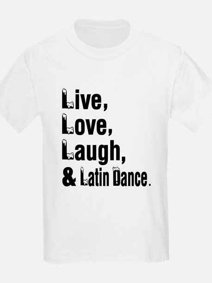 Live Love Latin Dance Designs T-Shirt