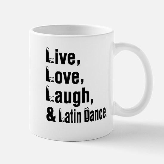 Live Love Latin Dance Designs Mug