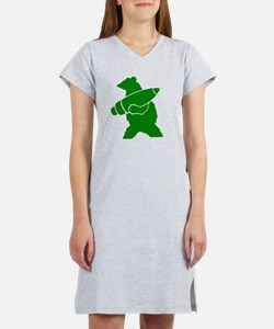 Wojtek the Soldier Bear Women's Nightshirt