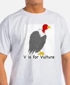V is for Vulture T-Shirt