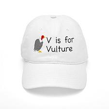 V is for Vulture Baseball Cap