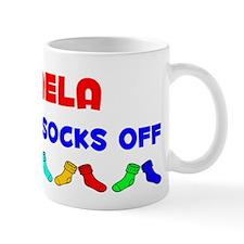 Mikaela Rocks Socks (A) Mug