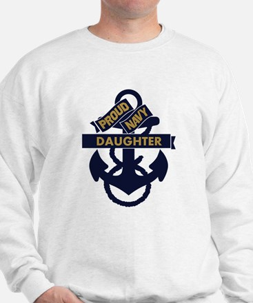 Proud Navy Personalized Jumper