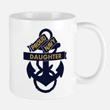 Proud Navy Personalized Mug