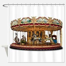 Carousel Shower Curtain
