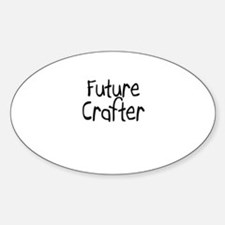 Future Crafter Oval Decal
