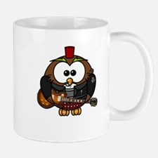 Owl Bird Music Disco Mugs