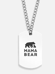 Mama Bear Dog Tags