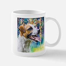 Jack Russell Terrier Painting Mugs