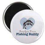 Grandpa's Future Fishing Buddy Fisherman Magnet