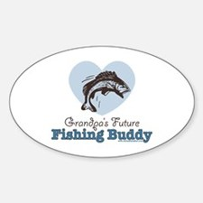 Grandpa's Future Fishing Buddy Fisherman Decal