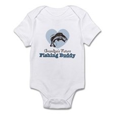Grandpa's Future Fishing Buddy Fisherman Onesie