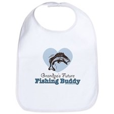 Grandpa's Future Fishing Buddy Fisherman Bib