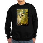 SWANS, Vintage art Print Sweatshirt