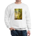 SWANS, Vintage art Print Sweater