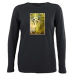 SWANS, Vintage art Print Plus Size Long Sleeve Tee
