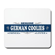 GERMAN COOLIES Mousepad