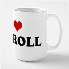 I Love PAYROLL Mugs