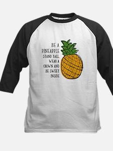 Be A Pineapple Kids Baseball Jersey