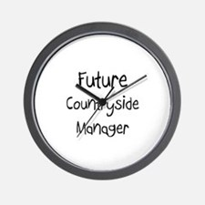 Future Countryside Manager Wall Clock