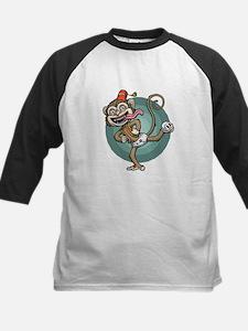 Dance, Monkey! Kids Baseball Jersey