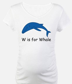 W is for Whale Shirt