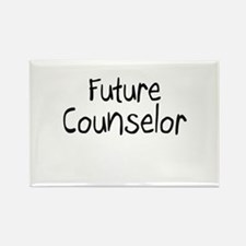 Future Counselor Rectangle Magnet