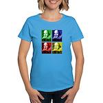 Pop Art Shakespeare Women's Dark T-Shirt