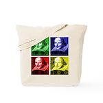 Pop Art Shakespeare Tote Bag