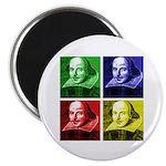 Pop Art Shakespeare Magnet