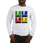 Pop Art Shakespeare Long Sleeve T-Shirt
