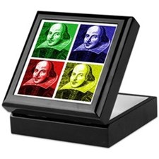 Pop Art Shakespeare Keepsake Box