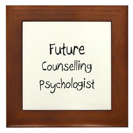 Future Counselling Psychologist Framed Tile