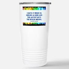 Music-3 Travel Mug