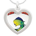 IAATBO! Silver Heart Necklace