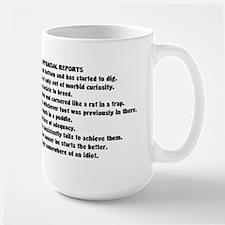 Funny Employee Eval Ceramic Mugs