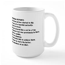 Funny Employee Eval Mug