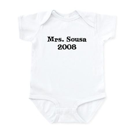 Mrs. Sousa 2008 Infant Bodysuit