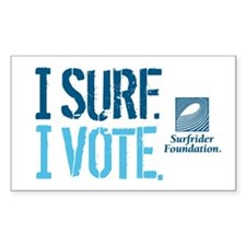 Voter Surfer Decal