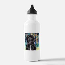 Newfoundland Painting Water Bottle