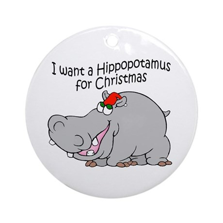 Hippopotamus Christmas Ornaments | 1000s of Hippopotamus Christmas ...